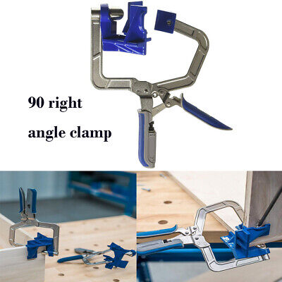Metal 90 Degree Right Angle clamp Kreg KHCCC Clamp Woodworking Clamping Kit DIY