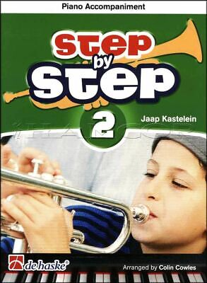 Step by Step 2 Trumpet Piano Accompaniment Sheet Music Book SAME DAY DISPATCH