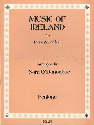 Music of Ireland for Piano Accordion Sheet Music Book