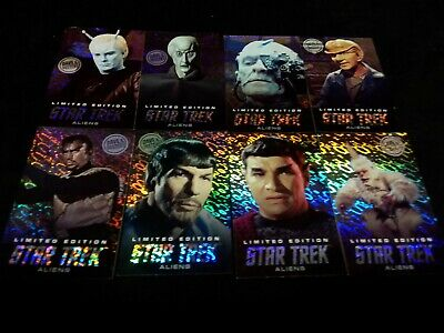 Dave and Buster's Aliens Star Trek Limited Foil Arcade Card Set Lot - Mugato