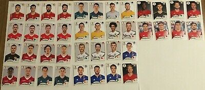 Panini WM 2018 40 Sticker ohne Nummer McDonalds World Cup 18 / without numbers