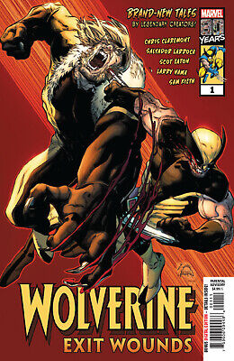 Wolverine Exit Wounds #1 - 1St Print - Marvel Comics Bagged Boarded. Free Uk P+P