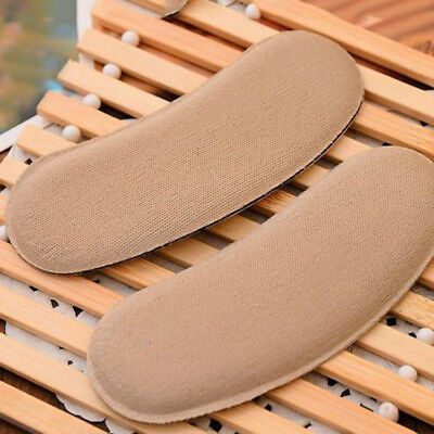 Extra Sticky Fabric Shoe Heel Insert Insoles Cushion Grips Strong Practical UK
