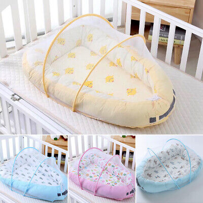 Baby Large Nest Newborn With Bed Canopy Sleeper Toddler Portable Crib Lounger