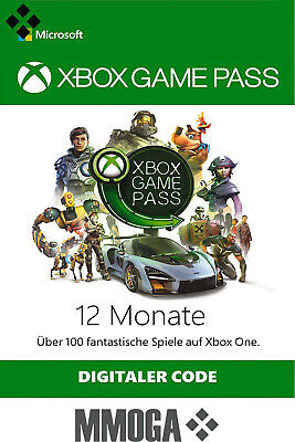 Xbox Game Pass 12 Monate Mitgliedschaft Code - Xbox Live Download key - DE & EU