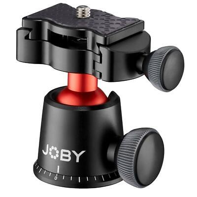 Joby GorillaPod 3K PRO BallHead with Quick Release Plate, Black/Charcoal/Red