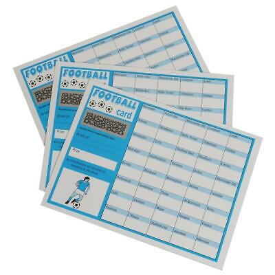Peeks Pack Of 100 Fundraising Charity Football Sports Scratch Cards - 40 Teams