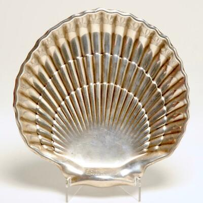 Vintage Sterling Silver Scallop Shell Platter By Gorham #40617-1
