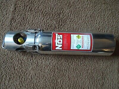 Nos Polished Nitrous Oxide Bottle  (((For Show Use Only)))  Free Postage