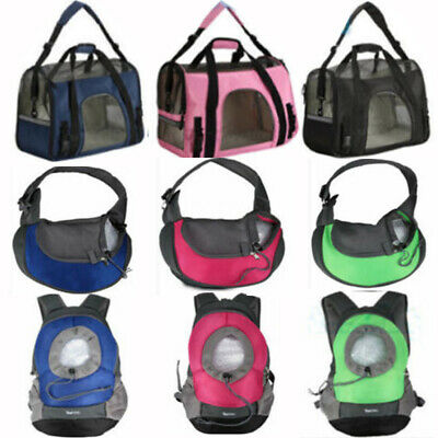 Cat & Dog Pet Carrier Airline Approved Soft Travel Carrier Small & Medium *Large