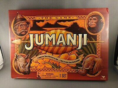 Cardinal Games Jumanji the Game Action Awesome Travel Size