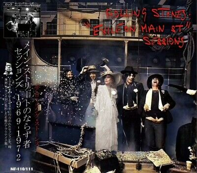 Rolling Stones EXILE ON MAIN ST. SESSIONS 1969-1972(2CD) Japan