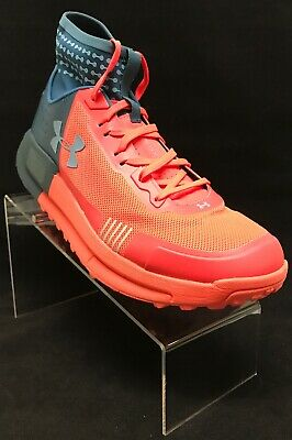 0bcbe0d82aedf New Under Armour Mens Horizon 50 Tourmaline Teal Hiking Shoes 3000300 300  Sz 9