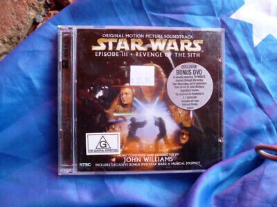 Star Wars Episode  Iii Revenge Of The  Cd Soundtrack With Bonus Dvd