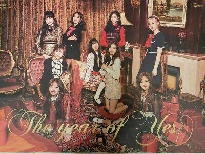 Twice Posters Yes Or Yes And what Is Love