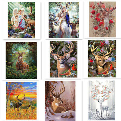 5D Full Drill Diamond Painting Animals Embroidery Crafts Cross Stitch Kits Decor