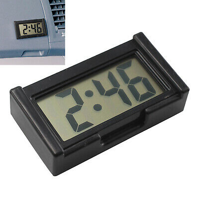 UK Ultra-thin LCD Digital Display Vehicle Car Dashboard Clock with Calendar Cool