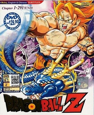 Anime DVD DBZ Dragon Ball Z Chapter 1 - 291 End Complete Japan Animation DP