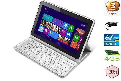 Cheap Acer Iconia w701 2 in 1 Tablet Laptop Intel i3 1.90GHz 4GB 120GB Win 10