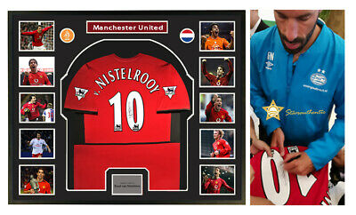 Ruud van Nistelrooy signed autograph jersey with starsauthentic coa proof