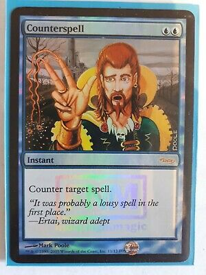 Mtg counterspell dci foil x 1 great condition