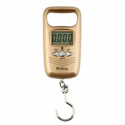Pocket Portable Mini 50kg LCD Digital Hanging Luggage Weight Hook Scale#WK