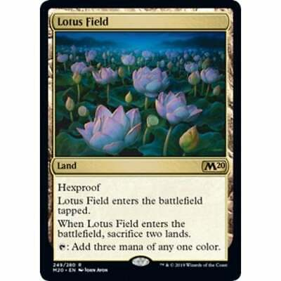 Lotus Field * Core Set 2020 * Magic: The Gathering