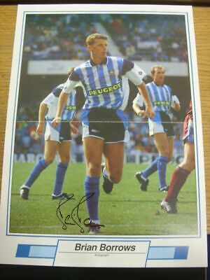 1991/1992 Autographed Magazine Picture: Coventry City - Borrows, Brian  [Size: 3