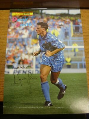1992/1993 Autographed Magazine Picture: Coventry City - Smith, David  [Size: 34c