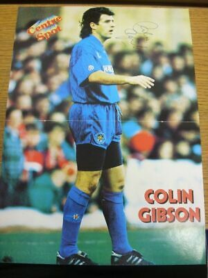 1993/1994 Autographed Magazine Picture: Leicester City - Gibson, Colin  [Size: 3