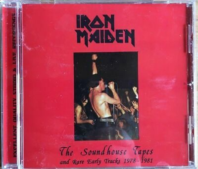 """Iron Maiden """" The Soundhouse Tapes And Rare Early Tracks 1978-1981 """" (Rare CD)"""