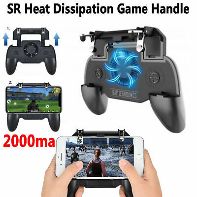 PUBG MOBILE PHONE Game Controller Joystick Cooling Fan Gamepad for