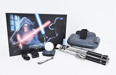 Lenovo Star Wars Jedi Challenges AR Game Headset and Lightsaber