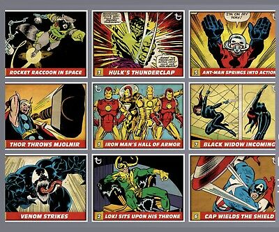 Topps MARVEL COLLECT DIGITAL Card VINTAGE PANELS - Choose Any TWO From Photo!!!!