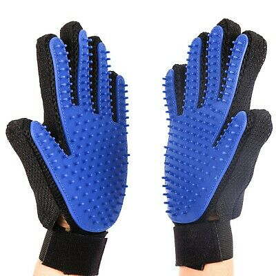 CoreLife Pet Grooming Glove Set For Dogs and Cats Deshedding Gentle Animal Fur