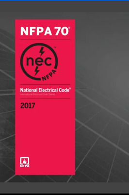 NFPA 70 NATIONAL ELECTRICAL CODE 2017 us edition brand new