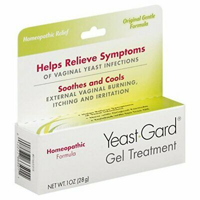 YeastGard Advanced Homeopathic Gel Treatment for Yeast Infection Symptom Relief