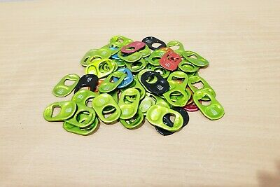 Lot of 100 Monster Energy Can Tabs for Monster Gear (Fast Shipping)
