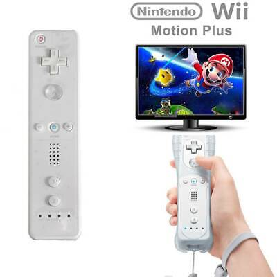 White Remote Wiimote Nunchuck Controller Set Combo Fit For Nintendo Wii Game UK