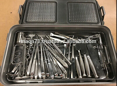 Codman, Miltex 60 Piece Ortho Surgical Instrument Set with Sterilization Case