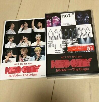 NCT 127 1st Tour NEO CITY JAPAN The Origin DVD 2-Pack Limited Edition