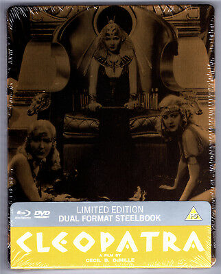 Cleopatra 2-Disc Blu-Ray Steelbook Neu & Ovp Sealed Sold Out