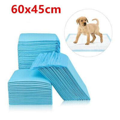 50 100 150 200 Extra Large Puppy Training Pads Toilet Pee Wee Mats Pet Dog Cat