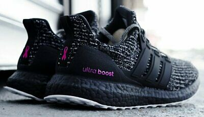 official photos 3a802 e92f1 (BC0247) ADIDAS ULTRA BOOST 4.0 BREAST CANCER AWARENESS BLACK/PINK Men New  Sz 9