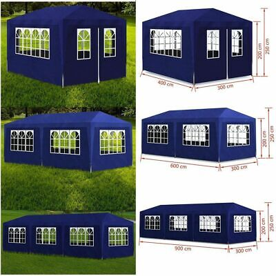 Gazebo Marquee Party Tent Garden Patio Awning Canopy Waterproof Heavy Duty New