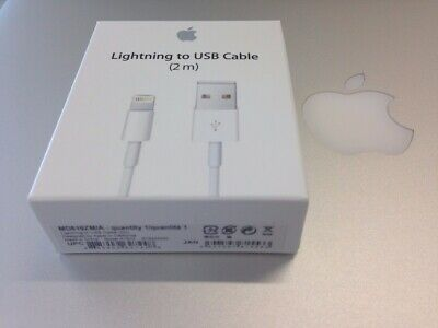 Genuine Apple Lightening USB Charger Lead Cable iPhone 8 7 6 5 X XS Max iPad OEM
