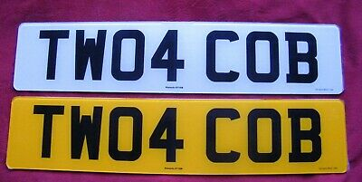 TWO4 COB Cherished Number Plate