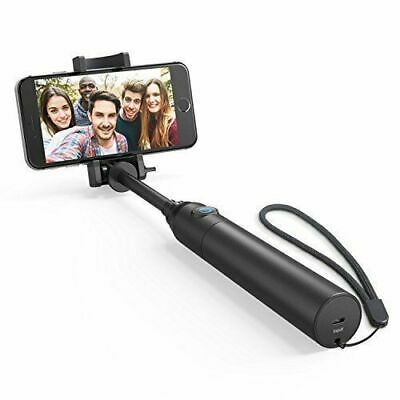 Anker Bluetooth Selfie Stick Highly-Extendable and Compact Handheld Monopod with