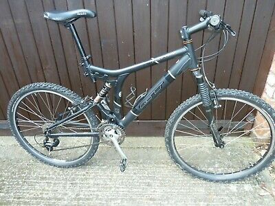 c47b07ec1b6 GT XCR 4000 Mountain Bike - Black, Full Suspension, Shimano Deore, Suntour.
