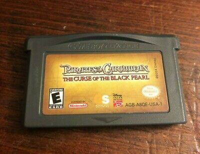 Pirates Of The Caribbean: The Curse Of The Black Pearl Nintendo Gameboy Advance